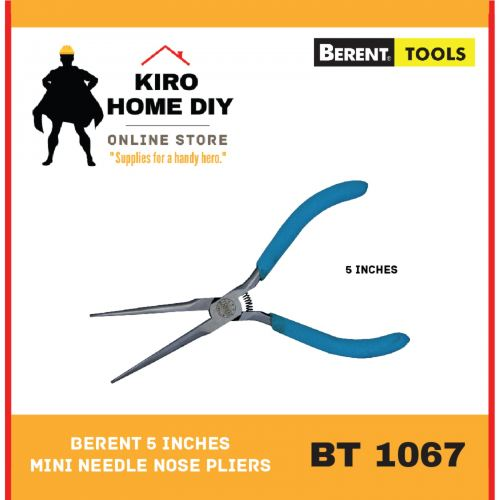 BERENT 5 Inches Mini Needle Nose Pliers  - BT1067
