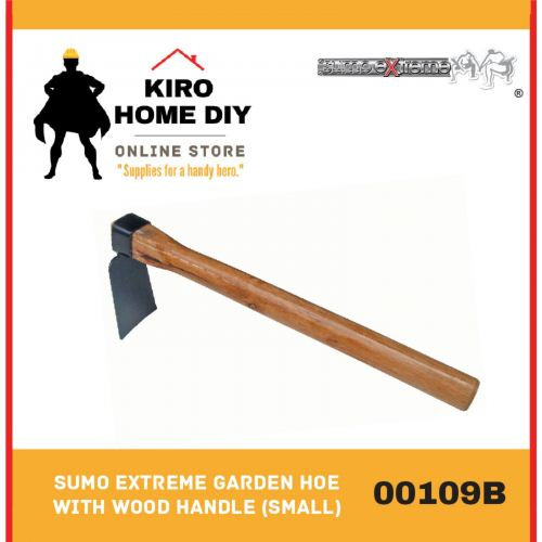 SUMO EXTREME Garden Hoe with Wood Handle (Small) - 00109B