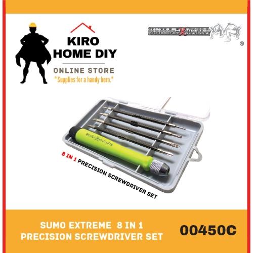 SUMO EXTREME  8 in 1 Precision Screwdriver Set - 00450C