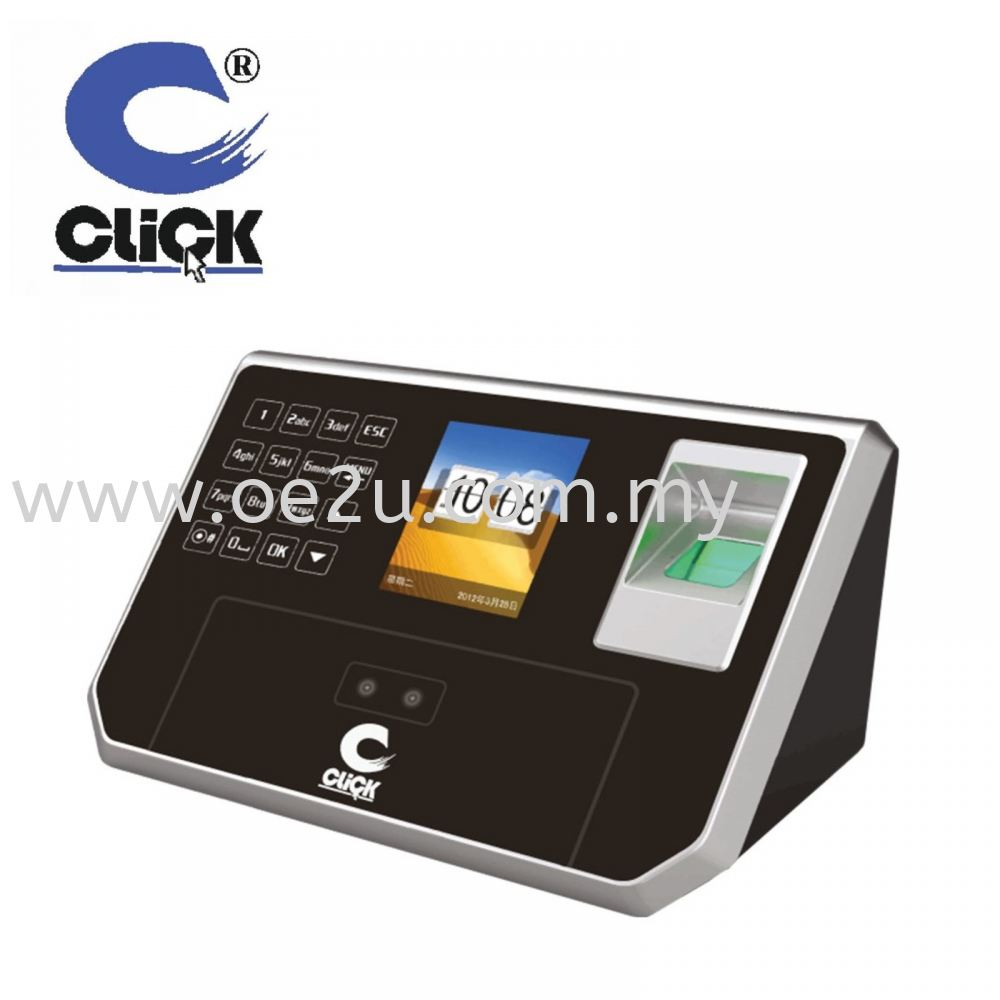 CLICK CL-385B Plus Face Recognition & Fingerprint Time Attendance System (Software Reporting + Optional Cloud Based)