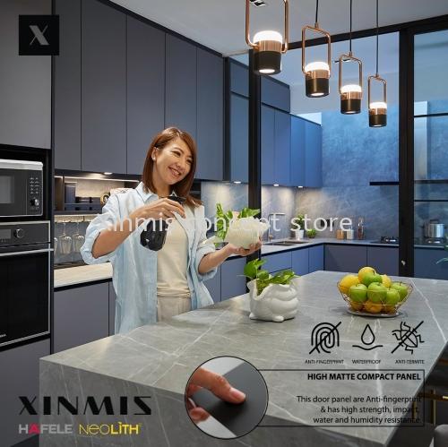 XINMIS x Hui Mei Ïô»ÛÃô | High Matte Aluminium Kitchen Cabinet