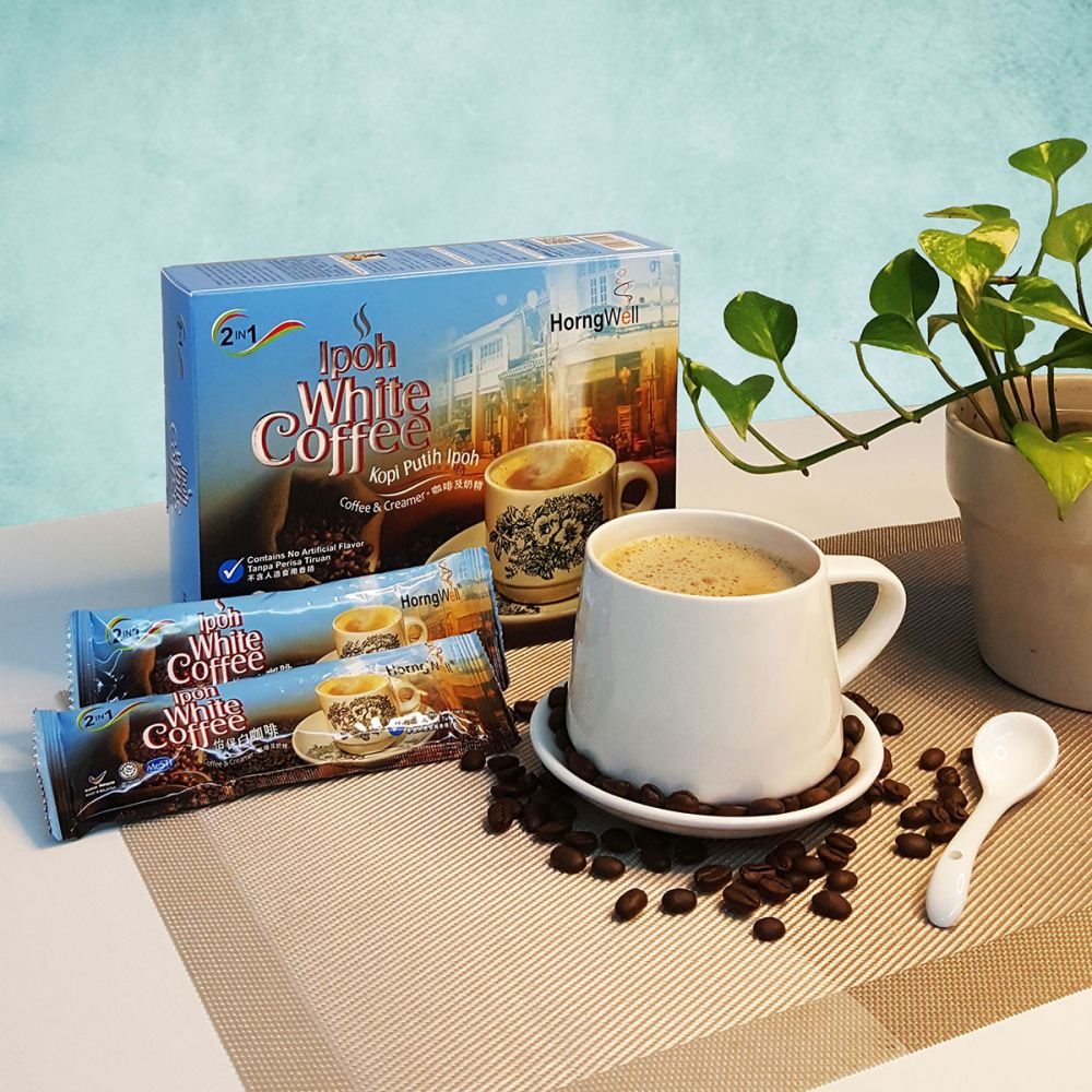 2 in 1 White Coffee