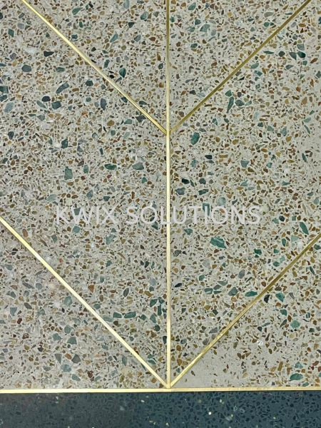 Brass Inlay Floor & Wall Finishes Singapore Manufacturer, Supplier, Supply, Supplies   KWIX SOLUTIONS PTE LTD
