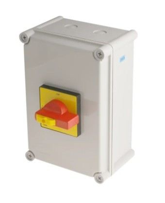 860-9541 - RS PRO 3 Pole Panel Mount Non Fused Isolator Switch - 100 A Maximum Current, 55 kW Power