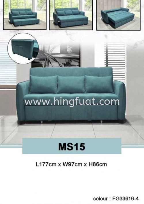 MS15 Pull out sofa bed
