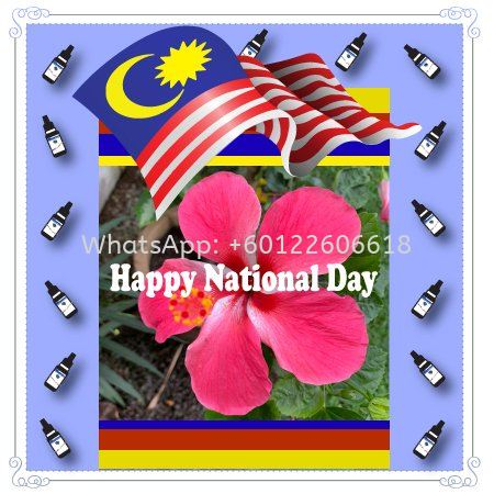 Happy National Day Malaysia August 31