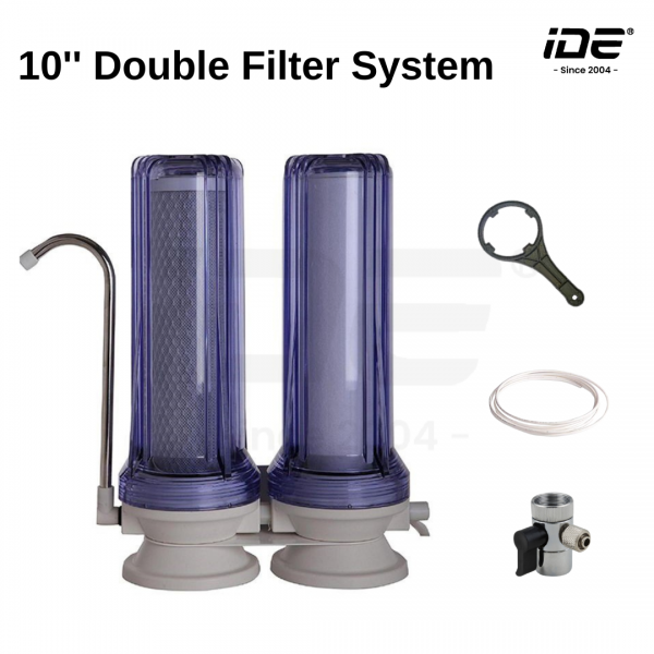 10 Inch Nesca Double Filter System Indoor Water Filter System Water Filtration System Johor Bahru (JB), Malaysia Supply, Supplier & Wholesaler   Ideallex Sdn Bhd
