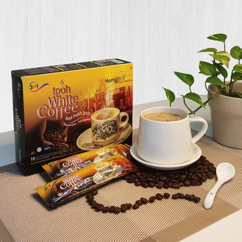 Instant Premix Charcoal Roasted Ipoh White Coffee