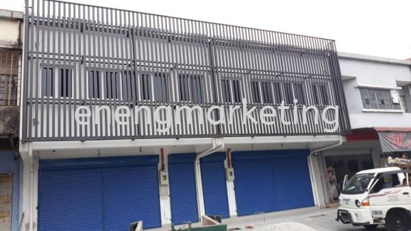 ST 06- Mild Steel Facade Structure STRUCTURE Selangor, Malaysia, Kuala Lumpur (KL), Klang Supplier, Suppliers, Supply, Supplies | E Neng Marketing Sdn Bhd