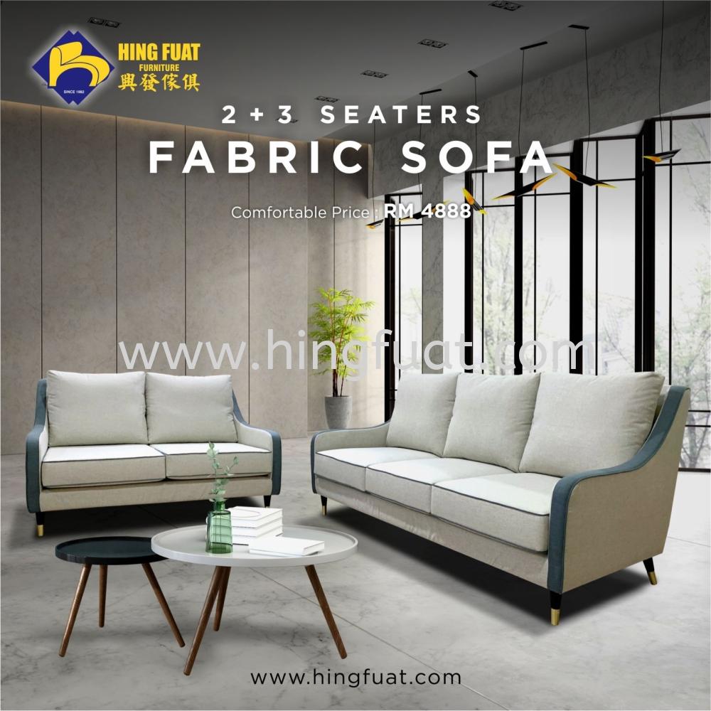2+3 Fabric Sofa