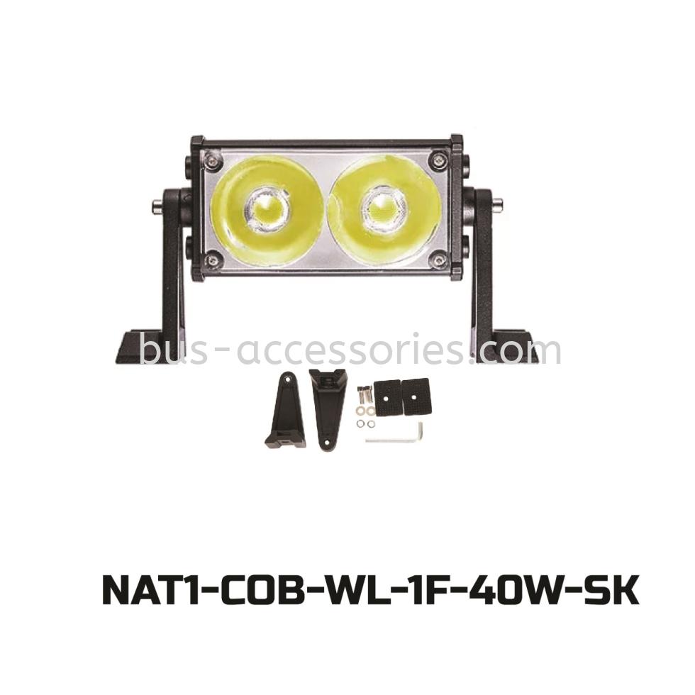 LED BAR/STROBE LIGHT 2F FOR TRUCKS AND 4X4 -White(DC12v-24v)