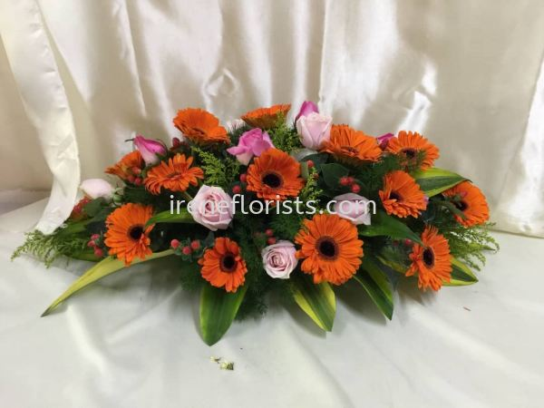 CT002 Funeral Wreath Taiping, Perak, Malaysia. Suppliers, Supplies, Supplier, Supply | Irene's Florists De Beaute
