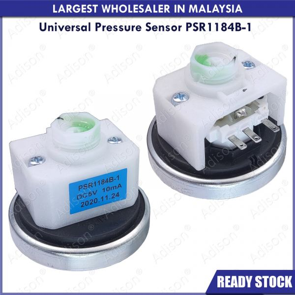 (Out of Stock) Code: 31705-A Universal Pressure Sensor PSR1184B-1 Pressure Switch / Pressure Sensor Washing Machine Parts Melaka, Malaysia Supplier, Wholesaler, Supply, Supplies | Adison Component Sdn Bhd