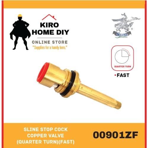 SLINE Stop Cock Copper Valve (Quarter Turn)(Fast) - 00901ZF