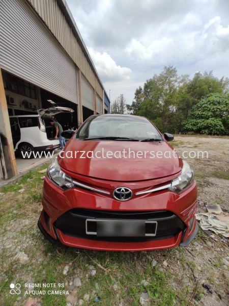 TOYOTA VIOS GX SEAT REPLACE FROM FABRIC TO TRD SPORT SYNTHETIC LEATHER Car Leather Seat Cheras, Selangor, Kuala Lumpur, KL, Malaysia. Service, Retailer, One Stop Solution | Carzac Sdn Bhd