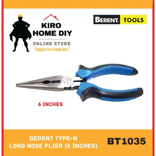 BERENT Type-N Long Nose Plier (6 Inches) - BT1035