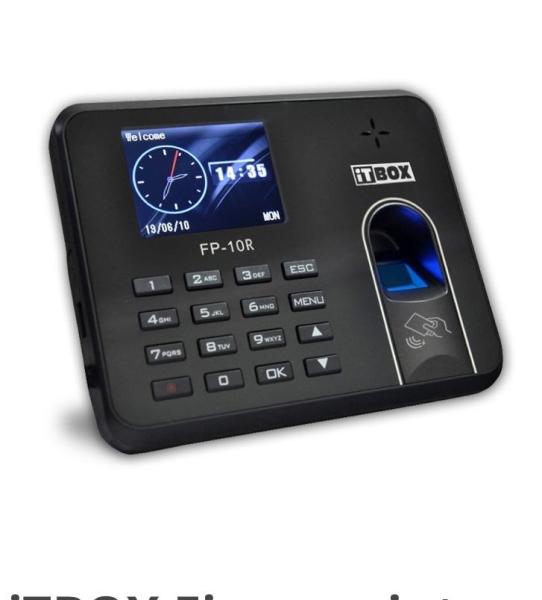 iTBOX FP-10 Fingerprint  Time Attandance System Selangor, Malaysia, Seri Kembangan, Kuala Lumpur (KL) Supplier, Installation, Supply, Supplies | V Access Enterprise
