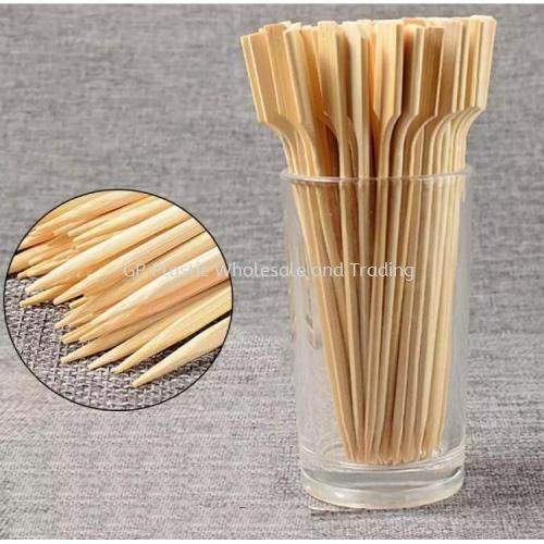Wooden Bamboo Oden / Fruit Skewer