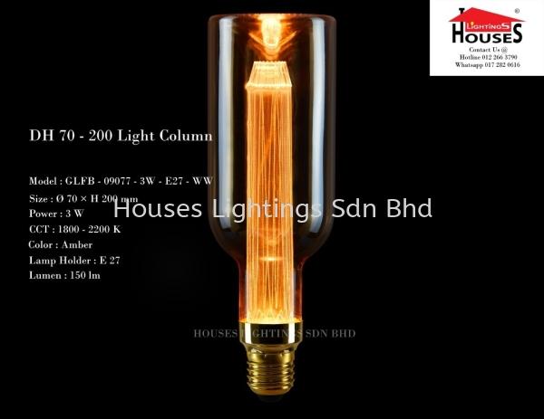 GSL 09077 3W WW DH70-200 LED BULB Bulb Selangor, Malaysia, Kuala Lumpur (KL), Puchong Supplier, Suppliers, Supply, Supplies   Houses Lightings Sdn Bhd