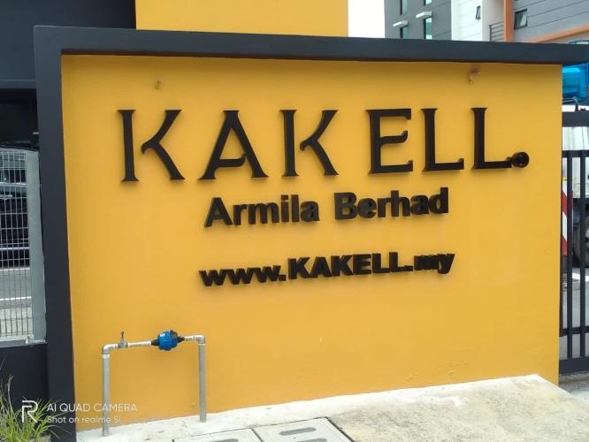 Signboard At Malaysia