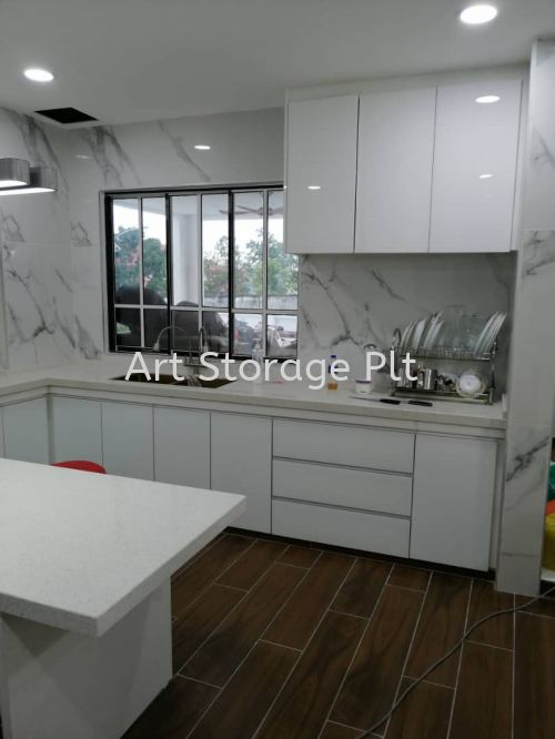 A Well Designed Dry Kitchen, Shah Alam Selangor