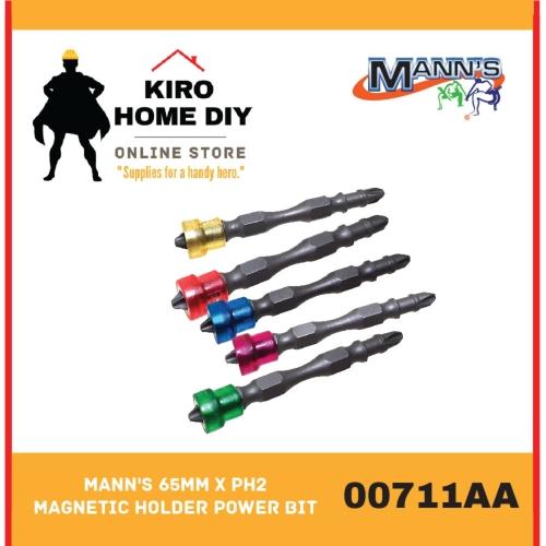 MANN'S 65mm x PH2 Magnetic Holder Power Bit - 00711AA