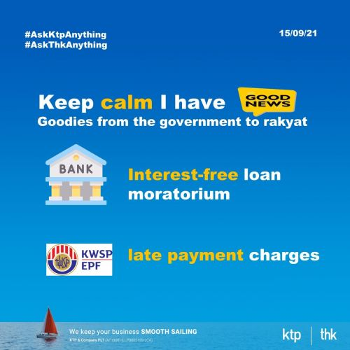2 latest initiatives to ease Rakyat financial difficulties