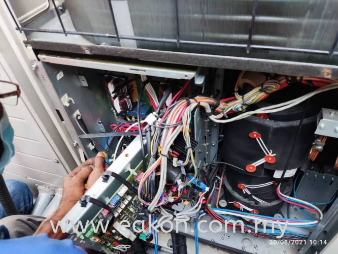 Replace and reprogram new PC Board