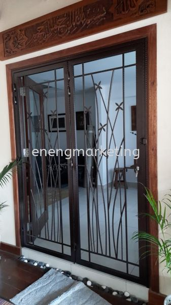 WIDG 41-W.I Swing Door Grille WROUGHT IRON GRILLE GRILLE Selangor, Malaysia, Kuala Lumpur (KL), Klang Supplier, Suppliers, Supply, Supplies | E Neng Marketing Sdn Bhd