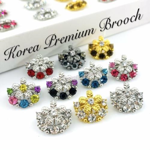 Elegant Brooch 10pcs Korea Premium Baby Brooch Kerongsang Pin Dagu Brooch Pin Muslimah Brooch Dagu - D2679