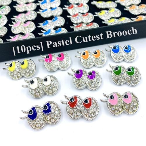Elegant Brooch 10pcs Pastel Cutest Brooch [Mata] Kerongsang Tudung Baby Brooch Pin Tudung Muslimah Kerongsang Murah