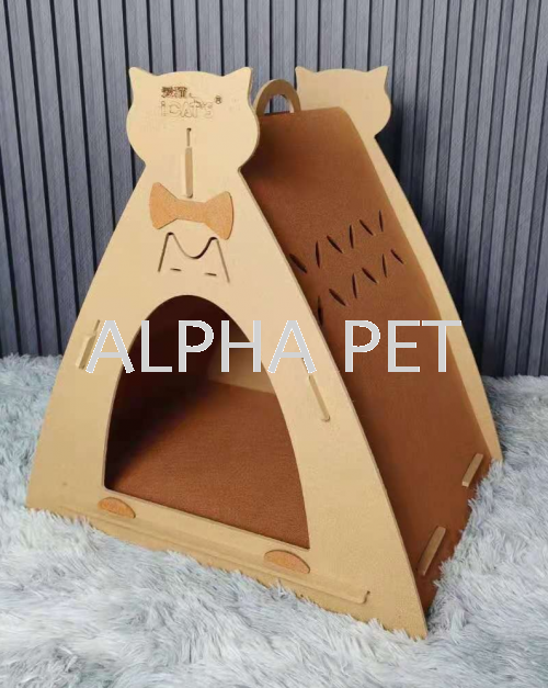 iCAT'S Triangle Cat House (CP6018)