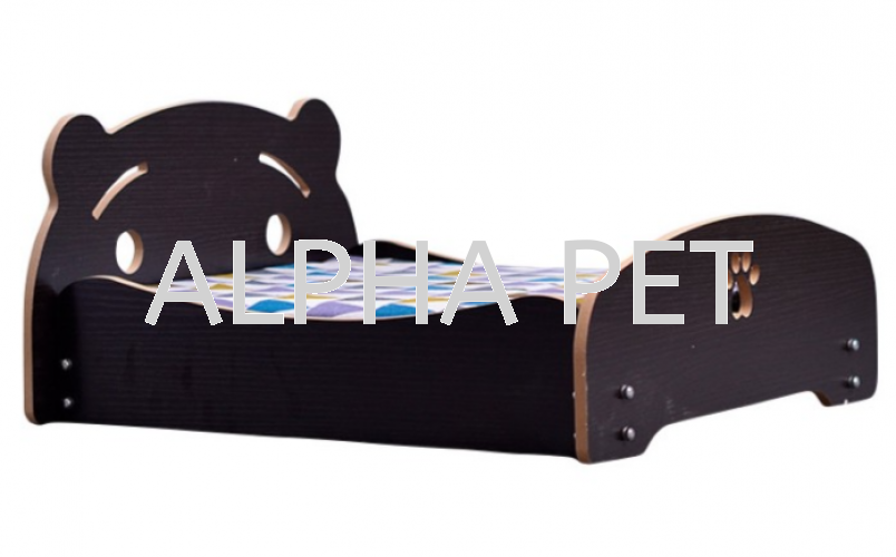 Bear Head Wooden Bed S size (CP7002BH)