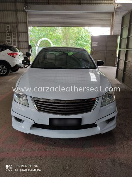 TOYOTA CAMRY SEAT REPLACE LEATHER/BALUT LEATHER/SEAT TUKAR LEATHER Car Leather Seat Cheras, Selangor, Kuala Lumpur, KL, Malaysia. Service, Retailer, One Stop Solution | Carzac Sdn Bhd