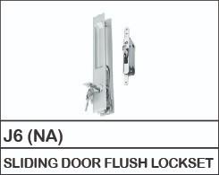 J6 (NA)  SLIDING DOOR FLUSH LOCKSET SLIDING DOOR & WINDOW LOCK Aluskill Accessories Negeri Sembilan, Malaysia, Port Dickson Supplier, Manufacturer, Supply, Supplies   Aluskill (M) Sdn Bhd