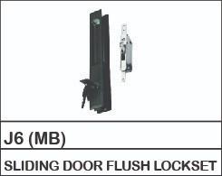 J6 (MB)  SLIDING DOOR FLUSH LOCKSET SLIDING DOOR & WINDOW LOCK Aluskill Accessories Negeri Sembilan, Malaysia, Port Dickson Supplier, Manufacturer, Supply, Supplies | Aluskill (M) Sdn Bhd