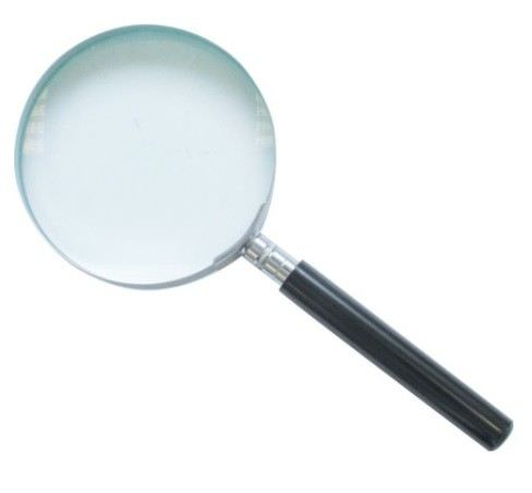 """OXD3162520K - HAND MAGNIFIER 2"""" DIA 3XMAG"""