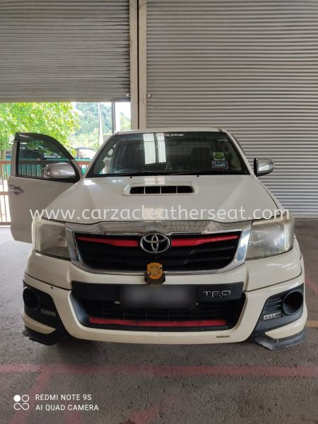 TOYOTA HILUX STERING REPLACE ORI LEATHER/STERING BALUT LEATHER Steering Wheel Leather Cheras, Selangor, Kuala Lumpur, KL, Malaysia. Service, Retailer, One Stop Solution | Carzac Sdn Bhd
