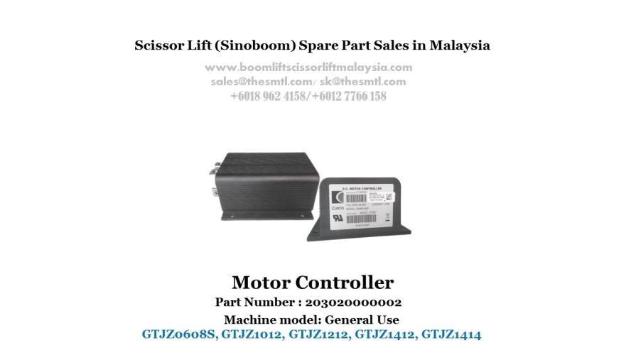 Scissor Lift Spare Part- Motor Controller Part No.: 203020000002