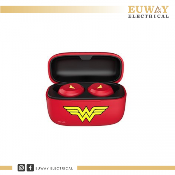 A&S TWS02SE DC TRUE WIRELESS EARBUDS WITH CASE (WONDER WOMEN) Earphone  Audio Perak, Malaysia, Ipoh Supplier, Suppliers, Supply, Supplies   EUWAY ELECTRICAL (M) SDN BHD