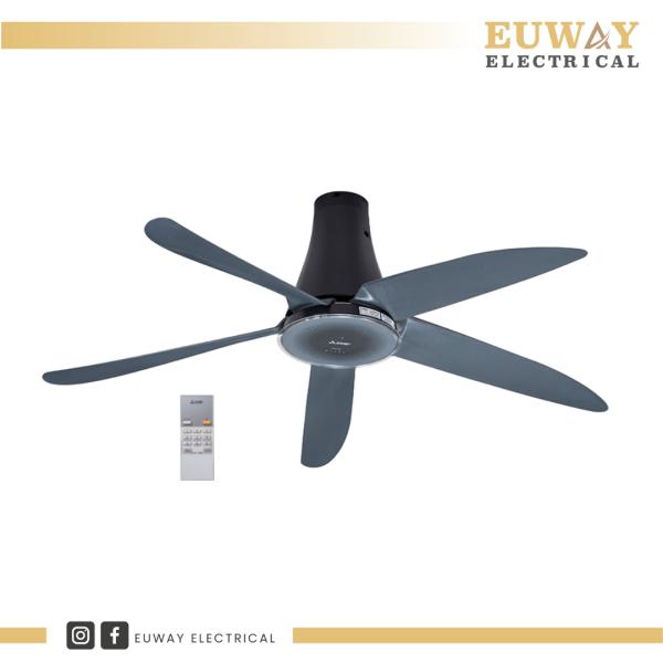 "MITSUBISHI ELECTRIC 56"" CEILING FAN GLASSIC GREY C56-RW5-P-CYGY Ceiling Fan Fan Series Perak, Malaysia, Ipoh Supplier, Suppliers, Supply, Supplies   EUWAY ELECTRICAL (M) SDN BHD"