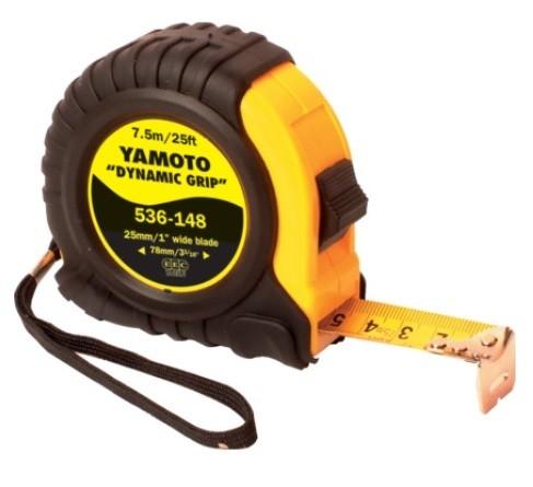 YMT5361480K - 7.5M/25' LOCKING TAPE RULE