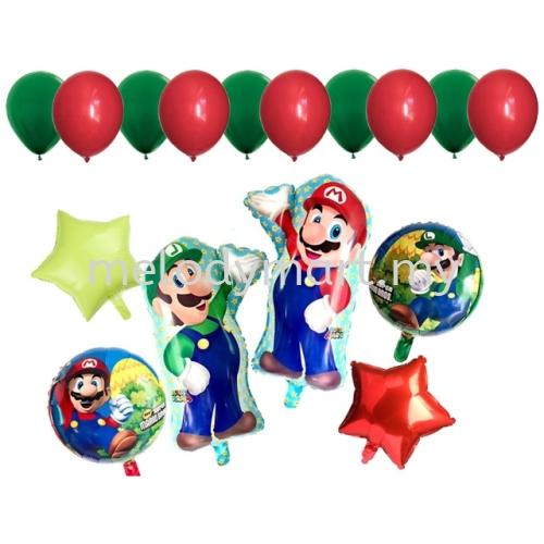 Super Mario Balloon Set Package