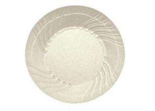 Wavy Round Rim Plate