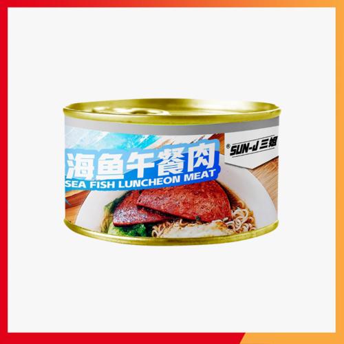 Sun-J Sea Fish Luncheon Meat 三姐海鱼午餐肉