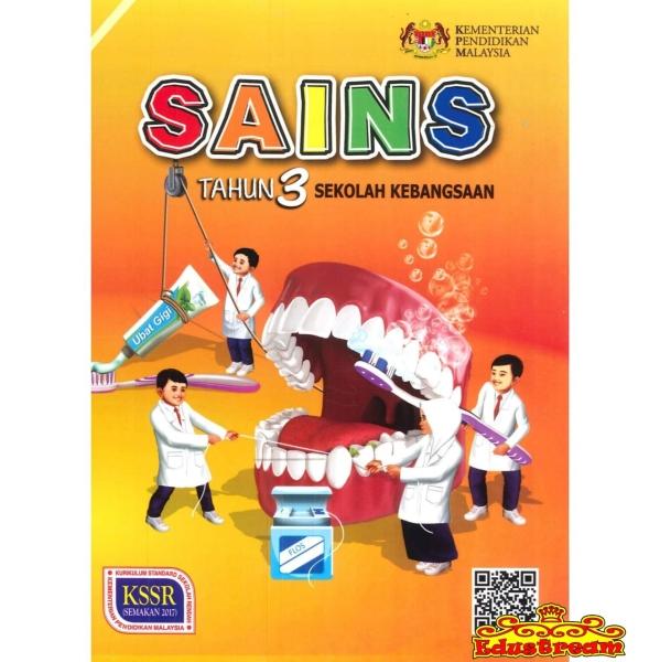 Buku Teks Sains Tahun 3 Sekolah Kebangsaan SK Year 3 Textbook Books Johor Bahru (JB), Malaysia Supplier, Suppliers, Supply, Supplies   Edustream Sdn Bhd