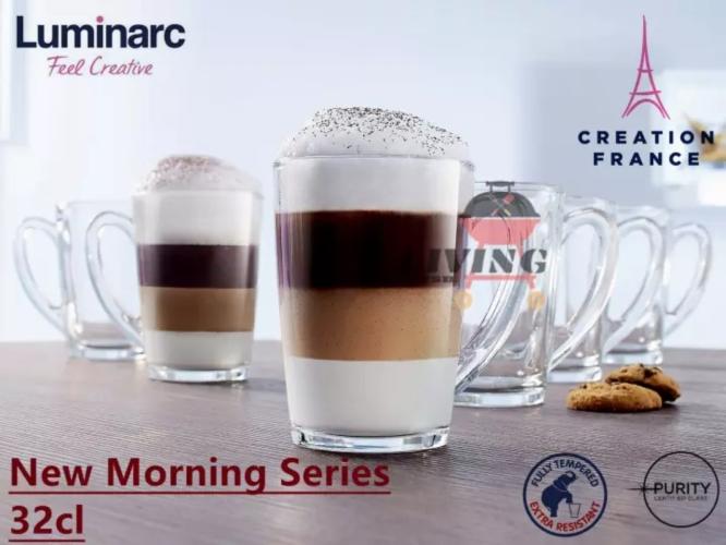 Luminarc New Morning Glass Mug
