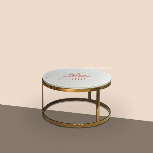 Sivec White (non-coat) | Marble Coffee Table | Cash & Carry