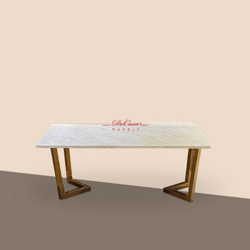 Golden Spider (non-coat) | Marble Coffee Table | Cash & Carry
