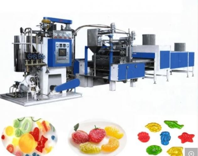 Center Filled Jelly Machine/Automatic Jelly and Gummy Candy Production Line /Soft Candy Making Machine